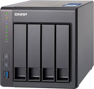 QNAP TS-431X-8G 4 Bay NAS