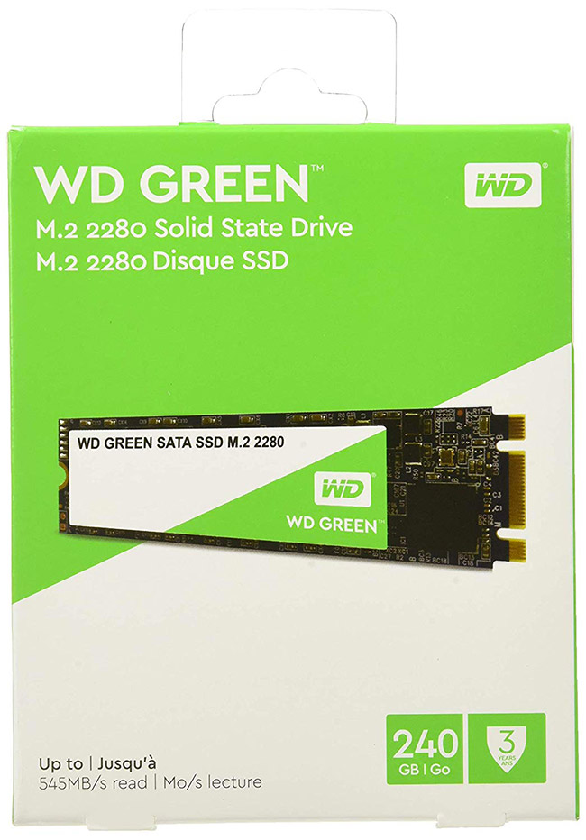 Western Digital Green 240GB M2