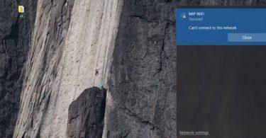 connexion wifi windows