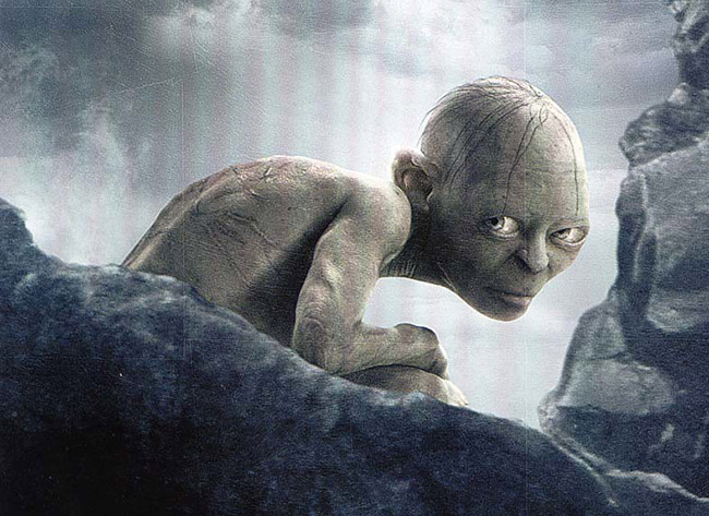 gollum lord of the ring ps5