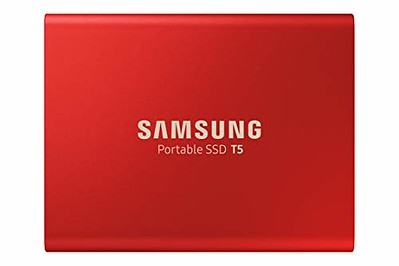 samsung t5 ssd rouge
