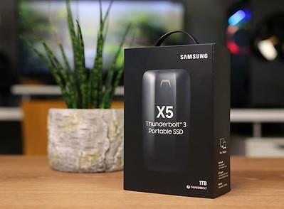 boîte du samsung ssd x5