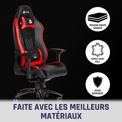 avis chaise gamer klim