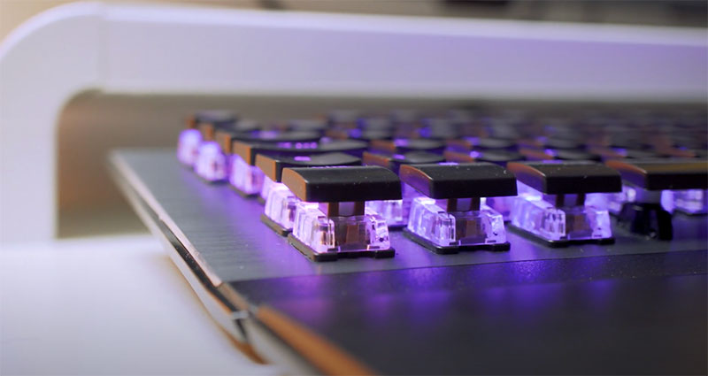 test clavier roccat vulcan 120