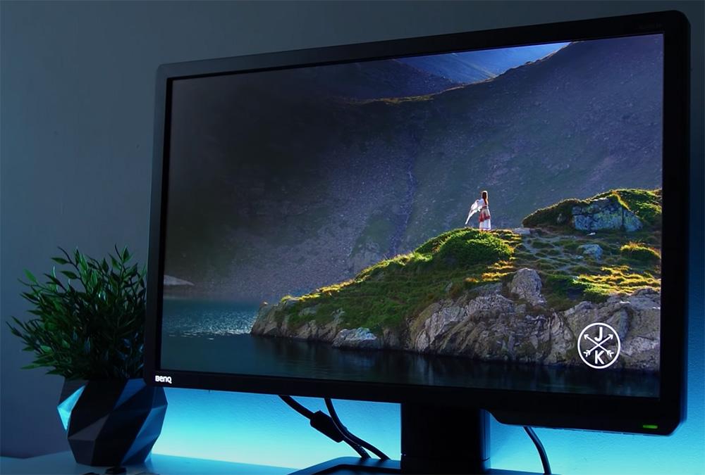 BenQ ZOWIE XL2411P écran ergonomie