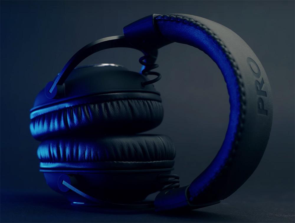 Logitech g pro casque gamer design sobre