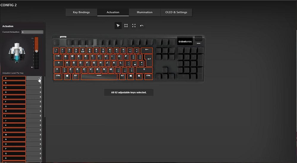 SteelSeries Apex Pro Clavier gamer logiciel