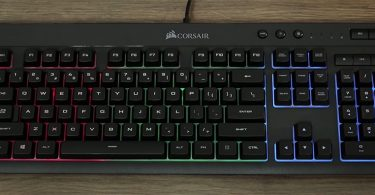 Test Corsair K55 Clavier Gaming