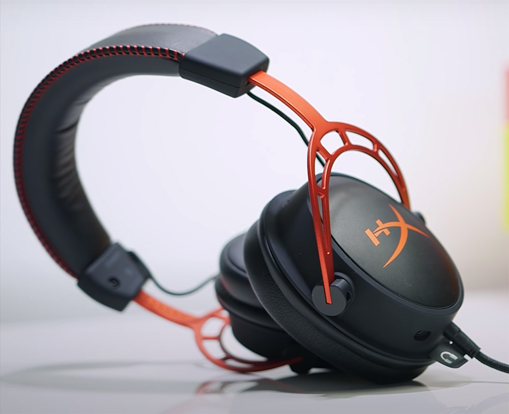 hyperX cloud alpha design elegant