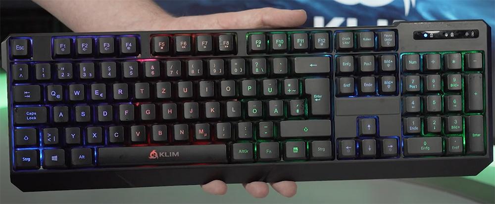klim chroma clavier gamer design