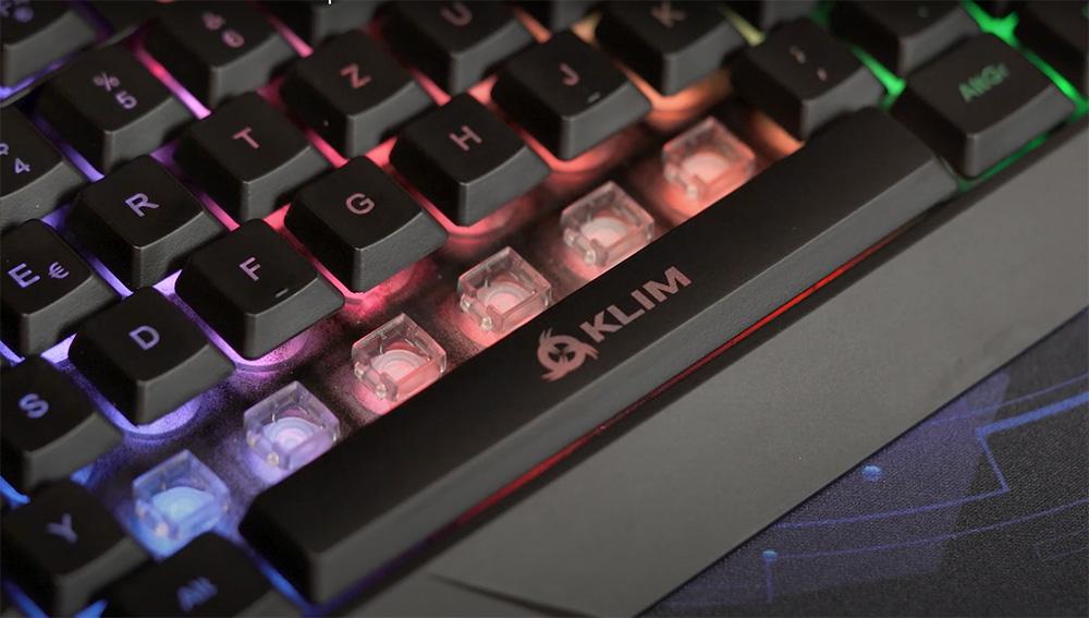klim chroma clavier gamer rgb