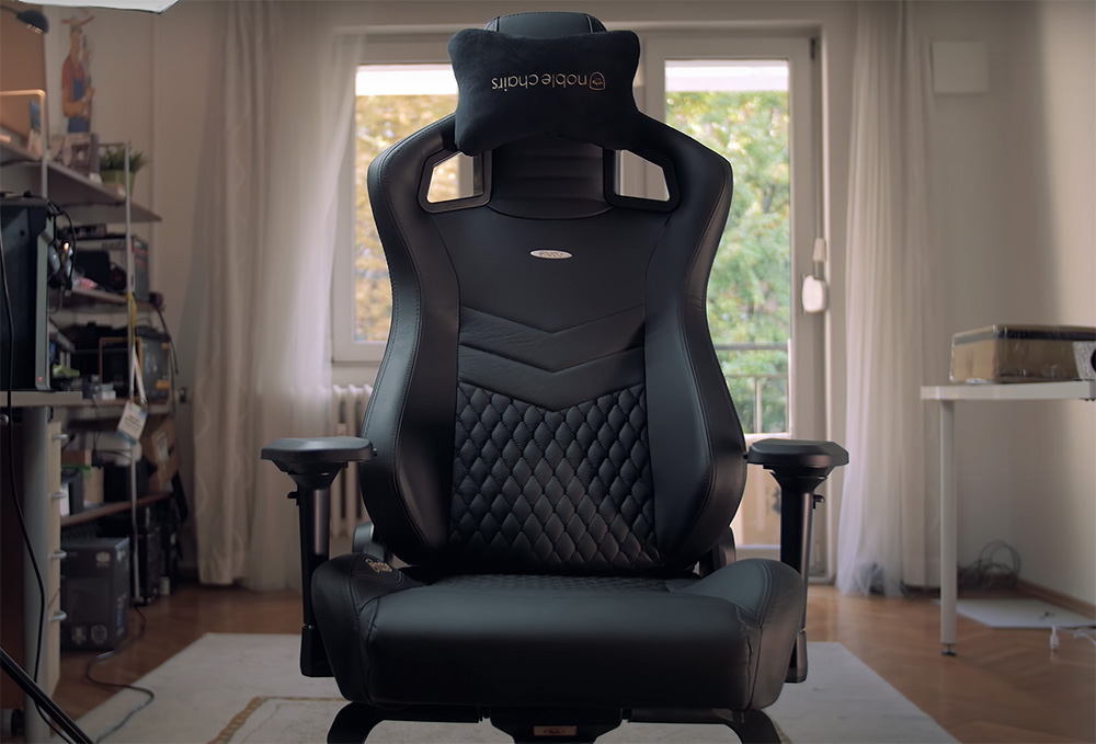 noblechairs Epic chaise gamer design