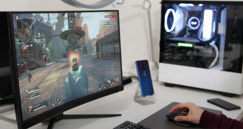 test msi OPTIX MAG241C ecran gamer