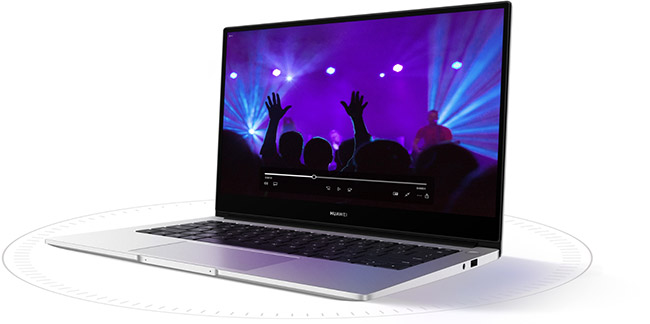 Huawei matebook 14 multimédia