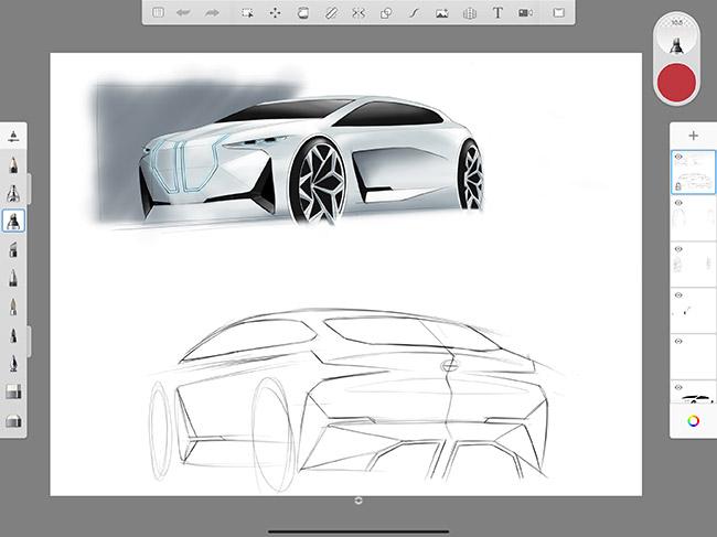 exemple de dessin avec le pencil 2