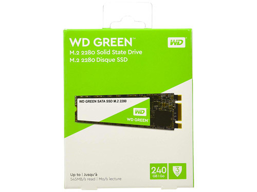 avis Western Digital Green 240 Go