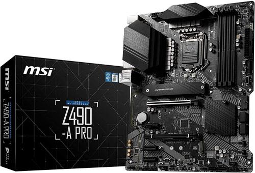 avis MSI Z490-A Pro