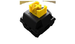switch razer jaune