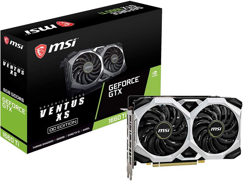 MSI GeForce GTX 1660 Ti avis